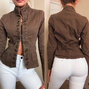 Brown Bohemian Jacket/ small